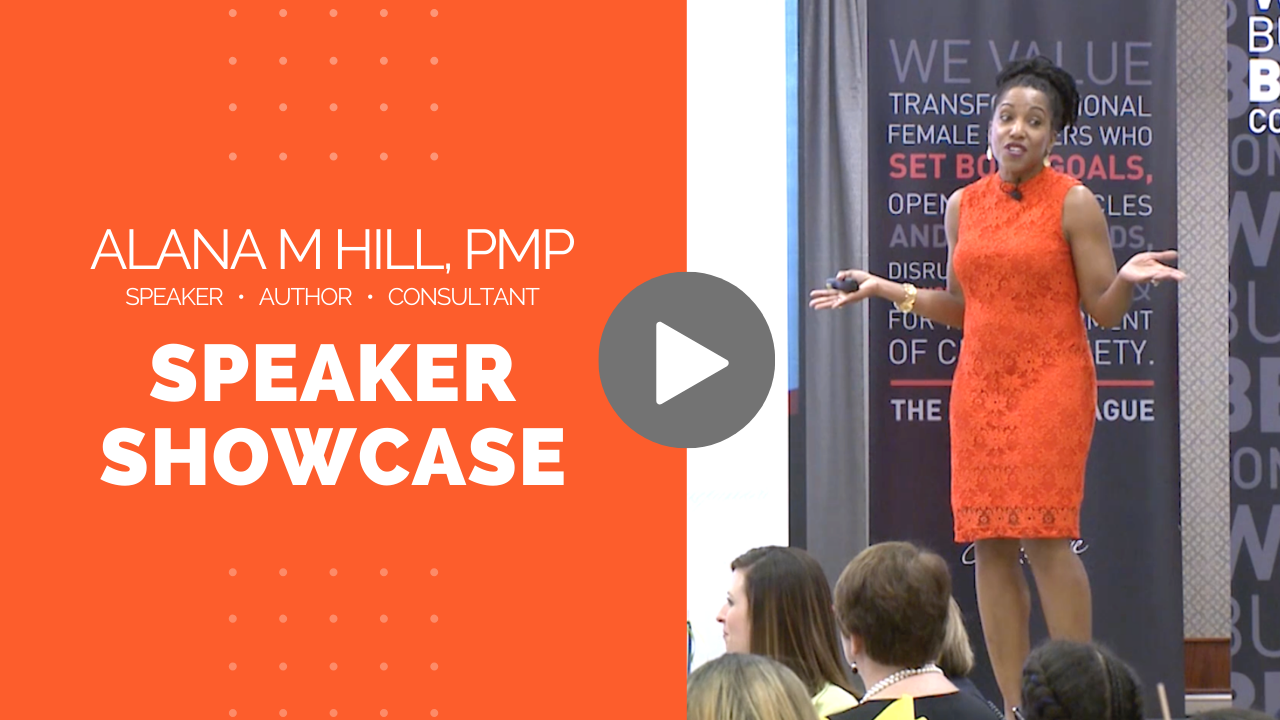 Alana M Hill Speaker Showcase Video