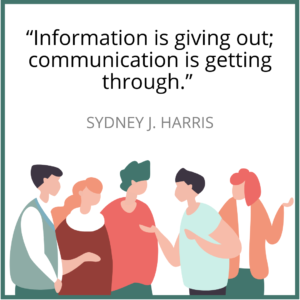 Sydney J. Harris - Communication Quote